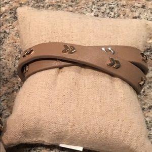 Stella & Dot chevron wrap bracelet